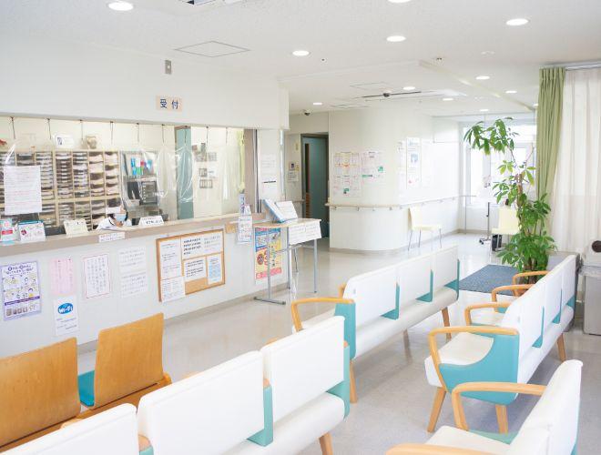 【画像】受付・待合室